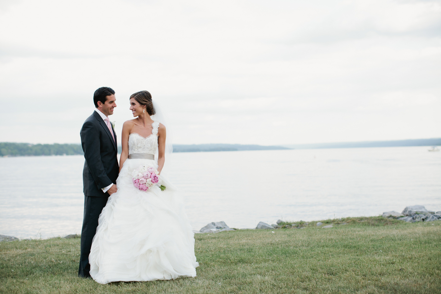 pretty wedding shot of the bride and groom | photo by Mary Dougherty Photography