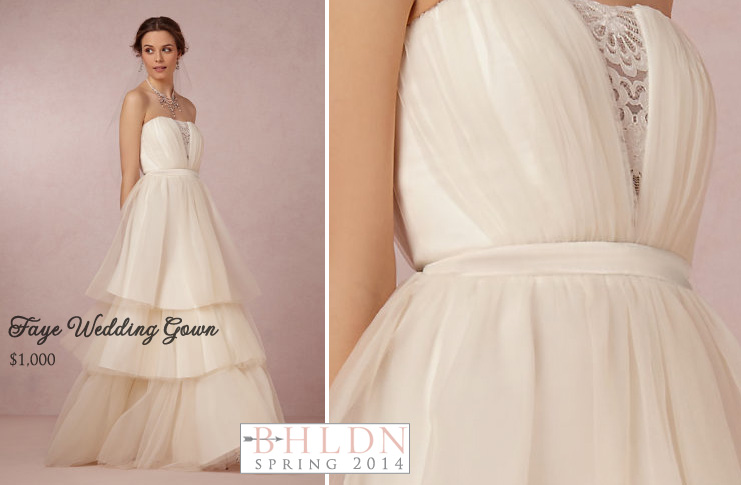 #BHLDN Spring 2014 #Wedding #Gown Collection : Faye Wedding Dress