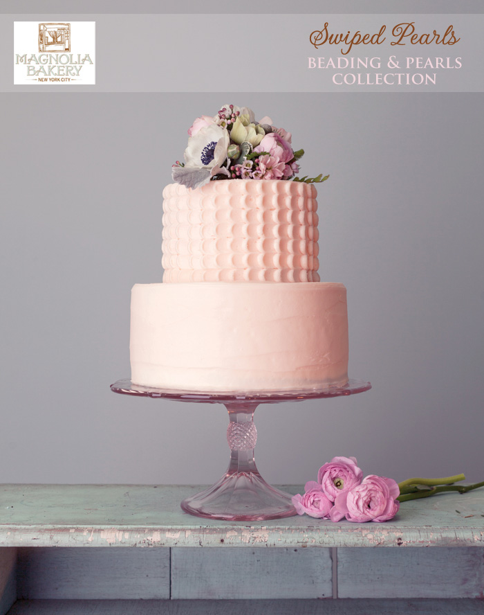 Magnolia Bakery Wedding Cakes : Swiped Pearls from the Beading and Pearls Collection