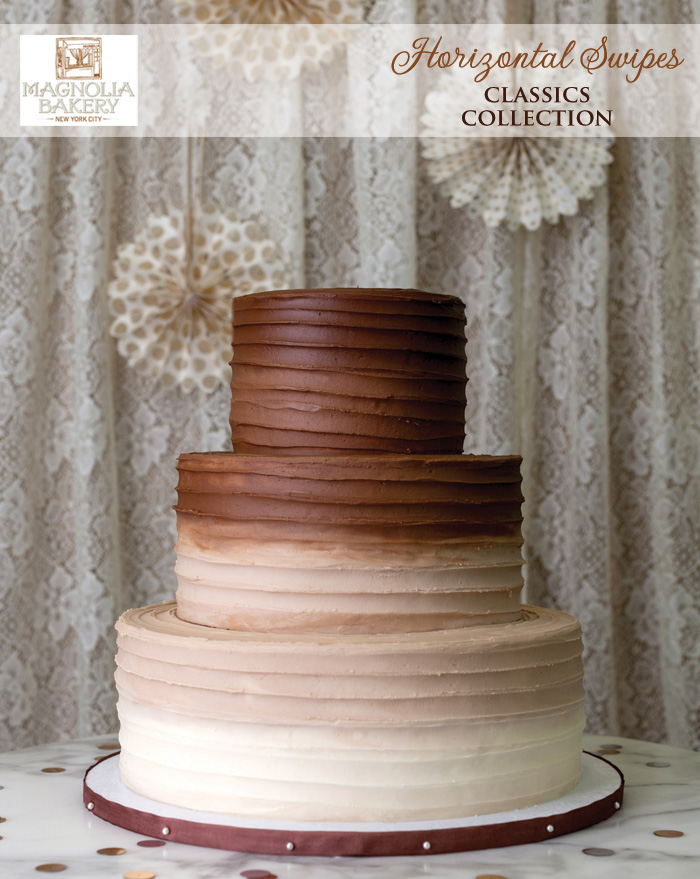 Magnolia Bakery Wedding Cakes : Horizontal Swipes from the Classics Collection