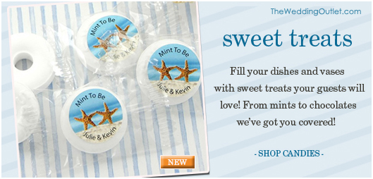 Personalized Wedding Candies for Candy Buffets #personalizedfavors #customweddingcandies