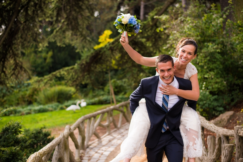 Running with his bride towards their future after they eloped to Paris, France   planned by Paris Weddings by Toni G.   photography by The Paris Photographer