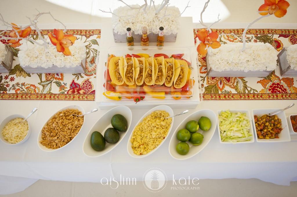 Taco Bar Wedding Reception Wedding Ideas