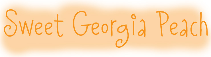"Sweet Georgia ""Peach Fuzz"" #Font - only $19"