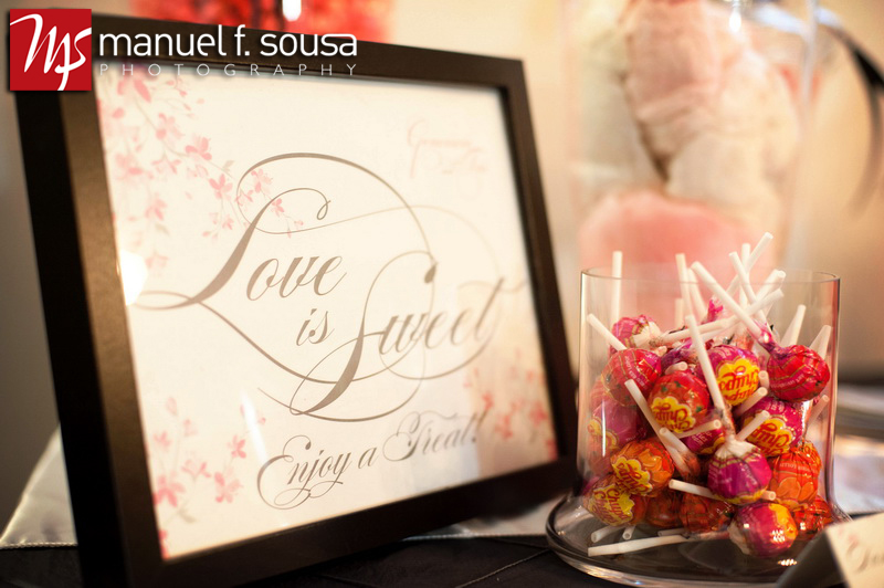 Love is Sweet sign for the Candy Buffet | photo by Manuel F. Sousa Photography | Wedding Coordination by Madeline's Weddings and Events