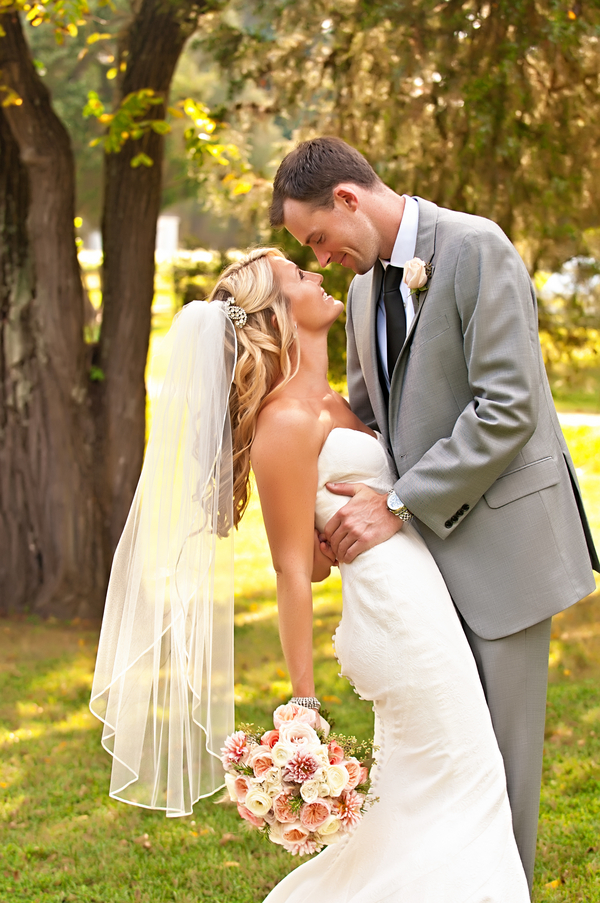 Great First Look Capture | photo by wwww.EverAfterVisuals.com as seen on www.brendasweddingblog.com