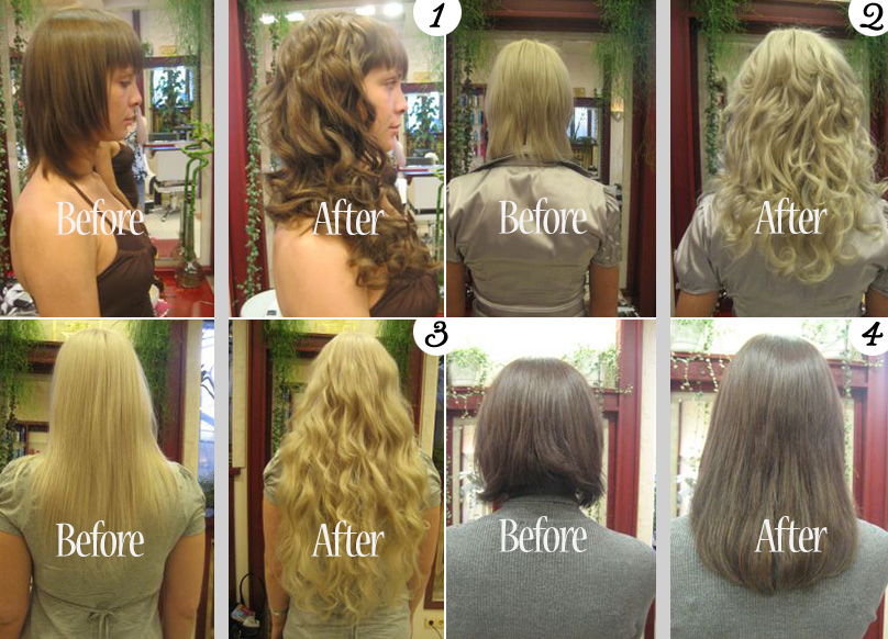 Wedding Day Hair Extensions : Before and After from Jessica Hair Extensions | via www.brendasweddingblog.com/blogs/2014/6/17/wedding-day-hair-extensions-a-new-look-in-just-a-few-hours