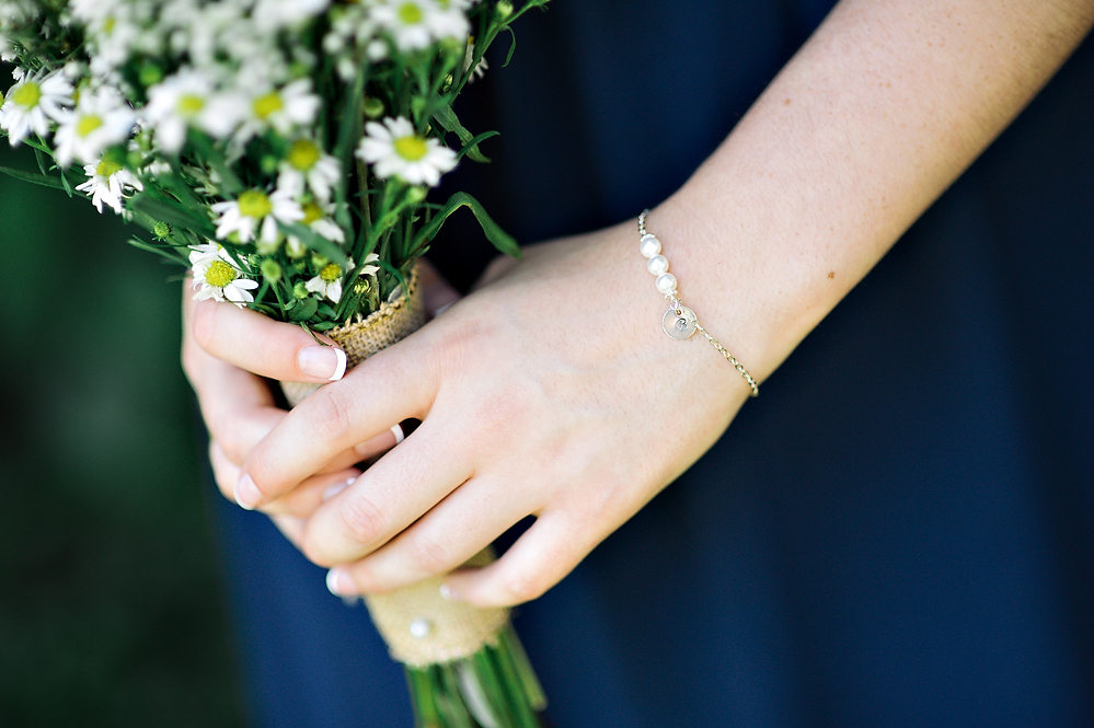 Beautiful Chamomile Bridesmaid Bouquet | from Rebecca Watkins Photography