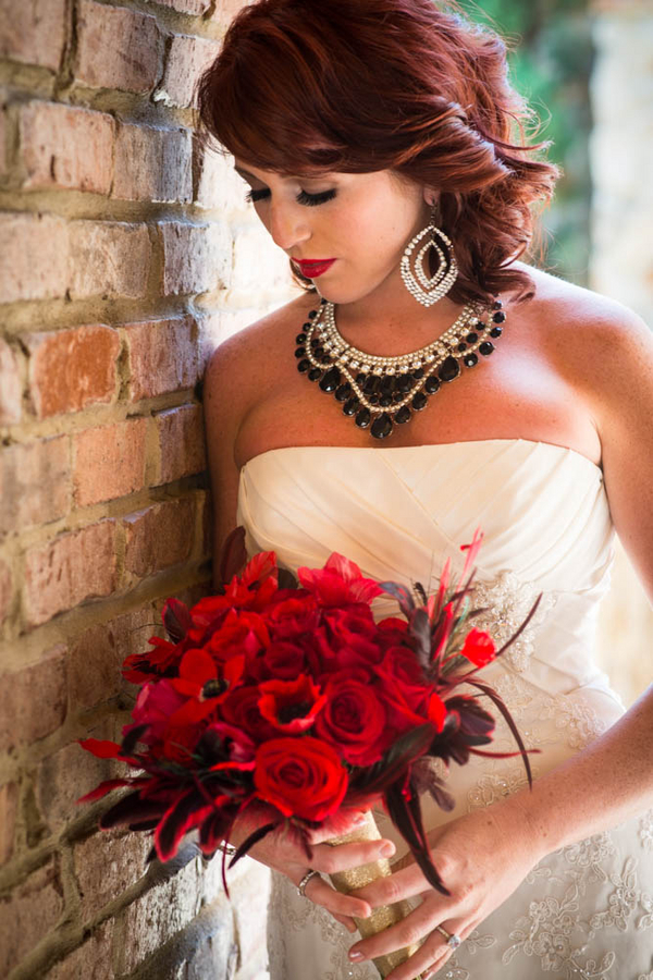 Hollywood Glam Styled Bridal Shoot | from The Story Telling Experience