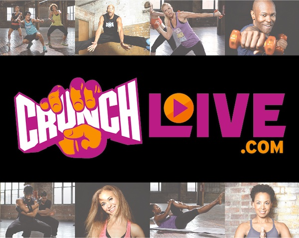 Crunch Live - at home workouts with real Crunch instructors - from quick 15 minute workouts to 60 minutes