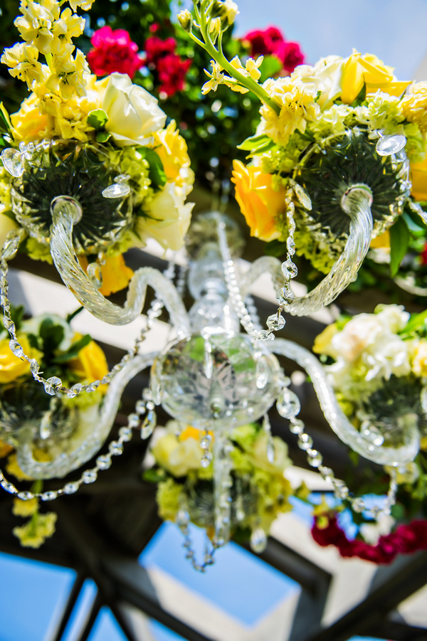 Stunning Chandelier for an Outdoor Wedding | photo by Ross Costanza Photography | as seen on www.BrendasWeddingBlog.com