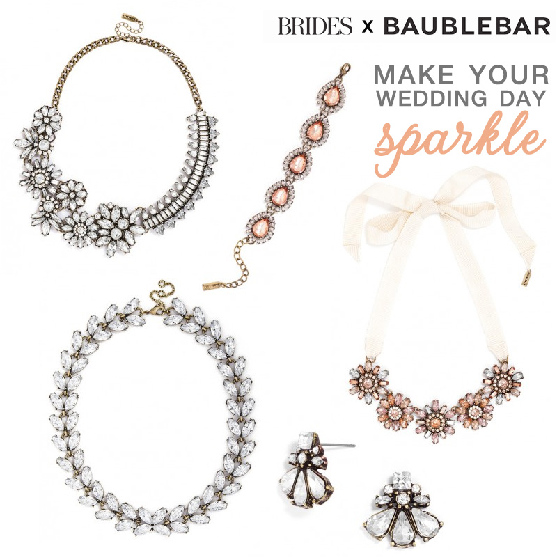 My Favorites from the all new Brides x Baublebar Wedding Jewelry Collection  #BRIDESInfluencer  as seen on www.brendasweddingblog.com