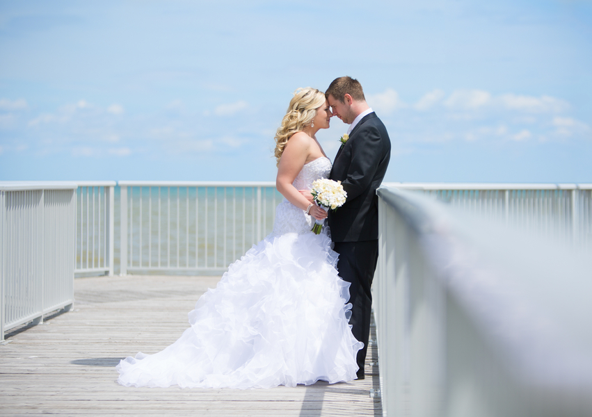 Intimate Wedding Portrait after First Look | photo by Real Image Photography | as seen on www.brendasweddingblog.com