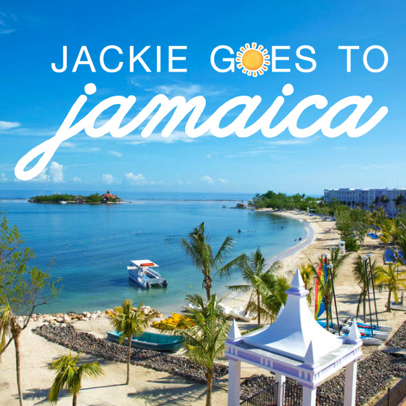 Follow Jackie Along as the Visits Jamaica and shares her wedding and honeymoon finds and hot spots on www.brendasweddingblog.com