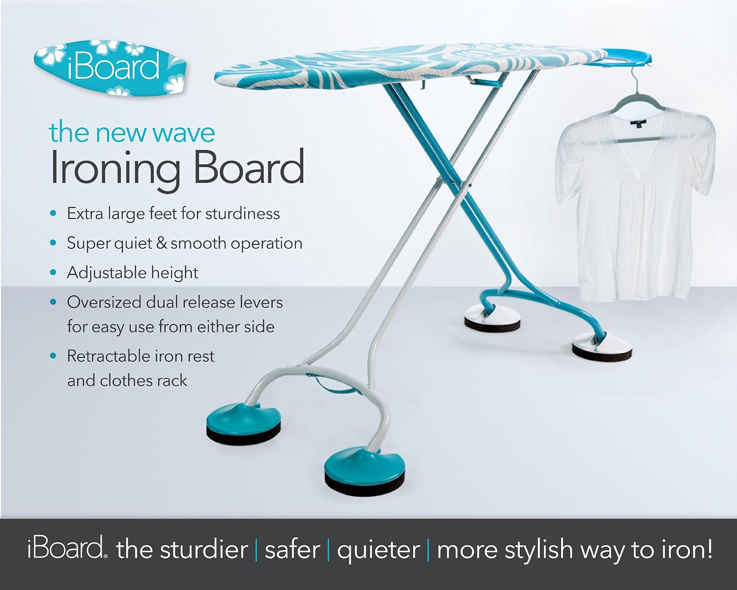iBoard Ironing Board : a unique and unexpected gift for the bride and groom {it's ok to stray from the wedding registry for this gift} / as seen on www.BrendasWeddingBlog.com