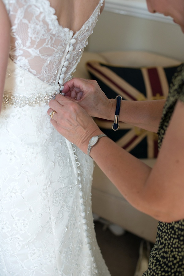 Gorgeous Back of the Wedding Dress | photo by Tracey Ann Photography / as seen on www.BrendasWeddingBlog.com