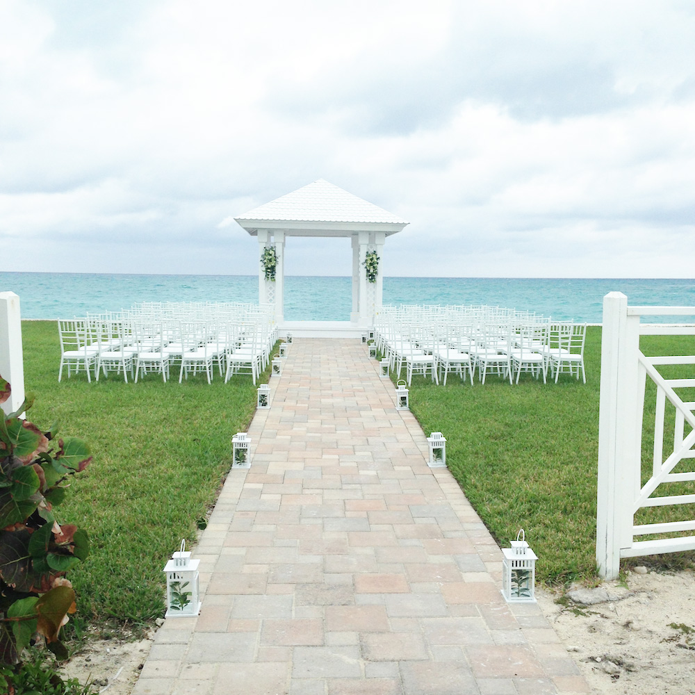 Breathtaking View for a Wedding Ceremony in The Bahamas / as seen on www.BrendasWeddingBlog.com