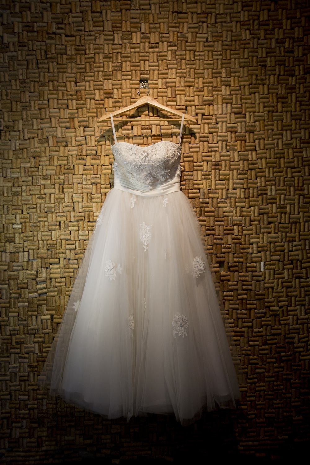 Gorgeous Retro Style Wedding Dress from The Dress Matters / photo by Krista Patton Photography
