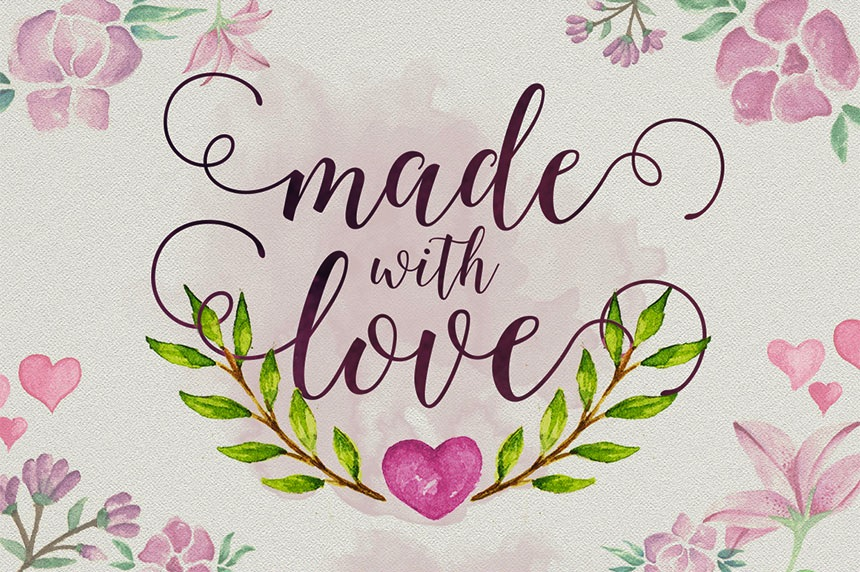 Gorgeous Modern Calligraphy Font for DIY Wedding Invitations - just $39 for this font AND 39 others