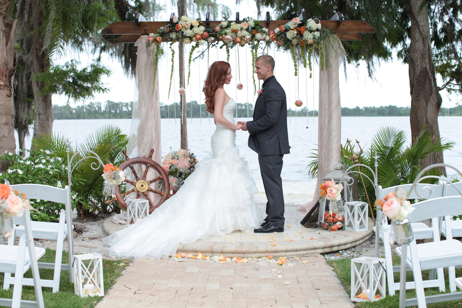 Under the Sea Inspired Wedding Ceremony Location / photo by Tab McCausland Photography