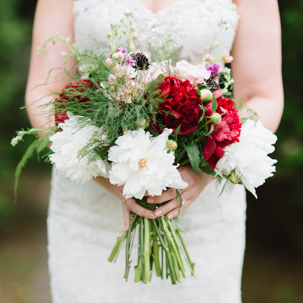 Woodland Inspired Wedding Bouquet / designed by EightTreeStreet / photo by Natalie Franke Photography