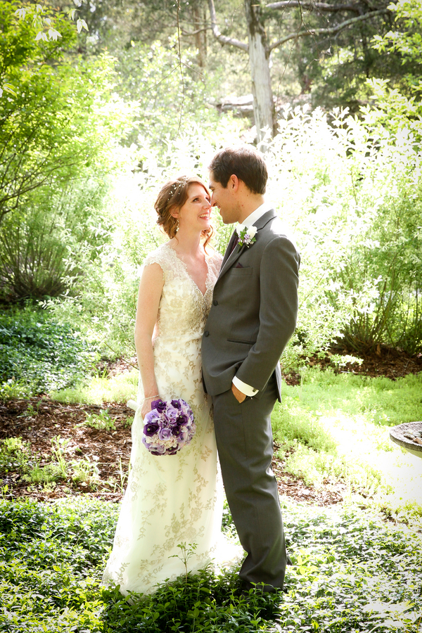 Intimate Outdoor Virginia Wedding with a Ceremony Tree Planting / photo by Crystal Image Photography