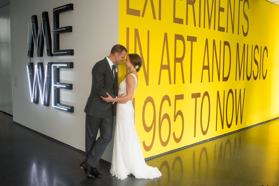 Gorgeous Wedding at the Museum of Contemporary Art in Chicago - photo by Candice C. Cusic Photography