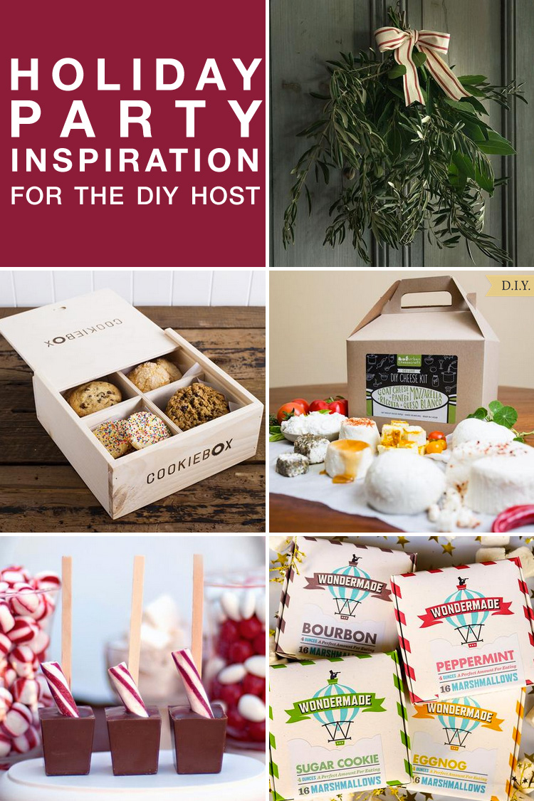 Holiday Party Inspiration for the DIY Host www.brendasweddingblog.com/blogs/2015/11/24/holiday-party-inspiration-for-the-diy-host-from-fonts-to-wreaths