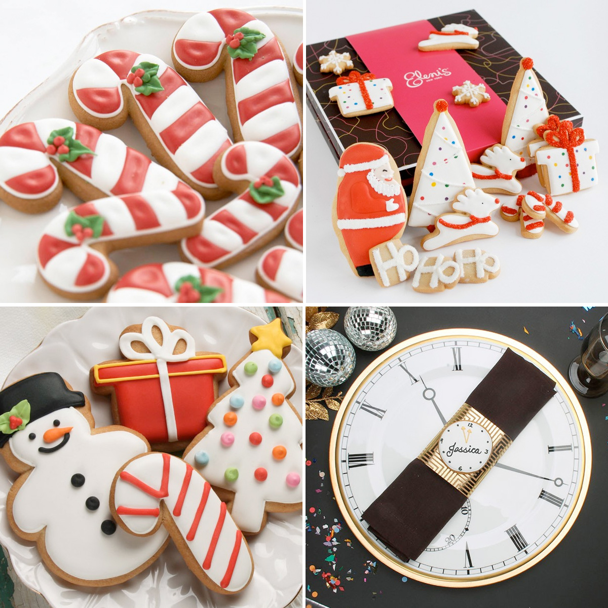 Holiday Cookies for Weddings and Parties : sweet treats for party guests
