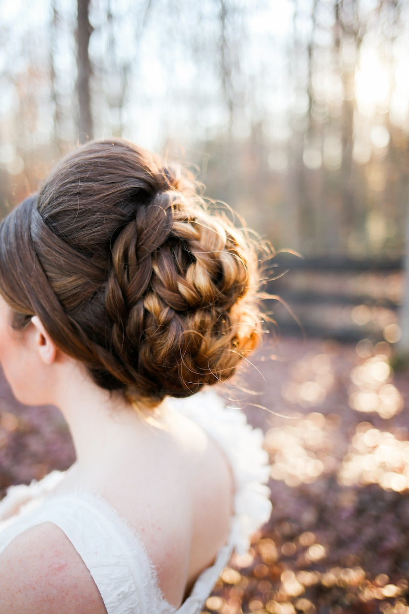 Gorgeous Hairstyle for Brides / photo by Debbie Ringle Photography