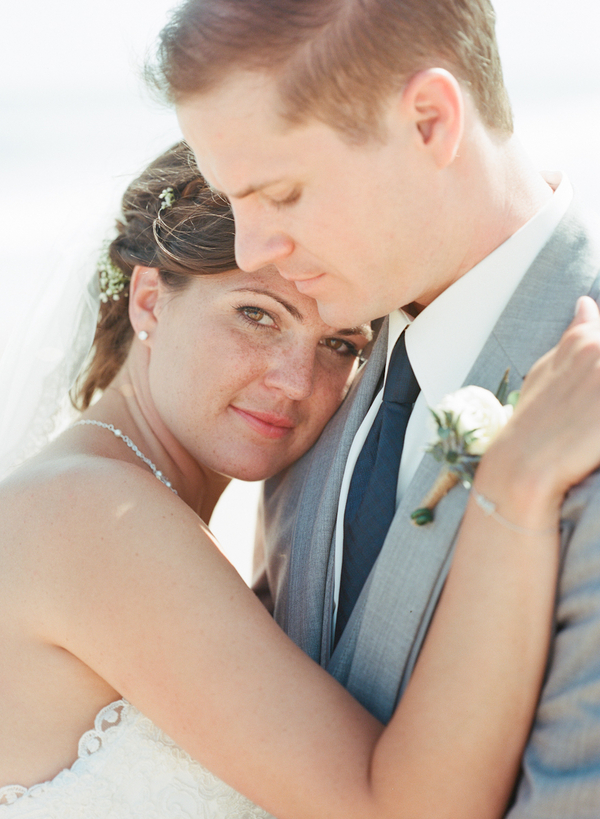 Vintage Beach Wedding in Montauk, New York / photo by Photography by Verdi