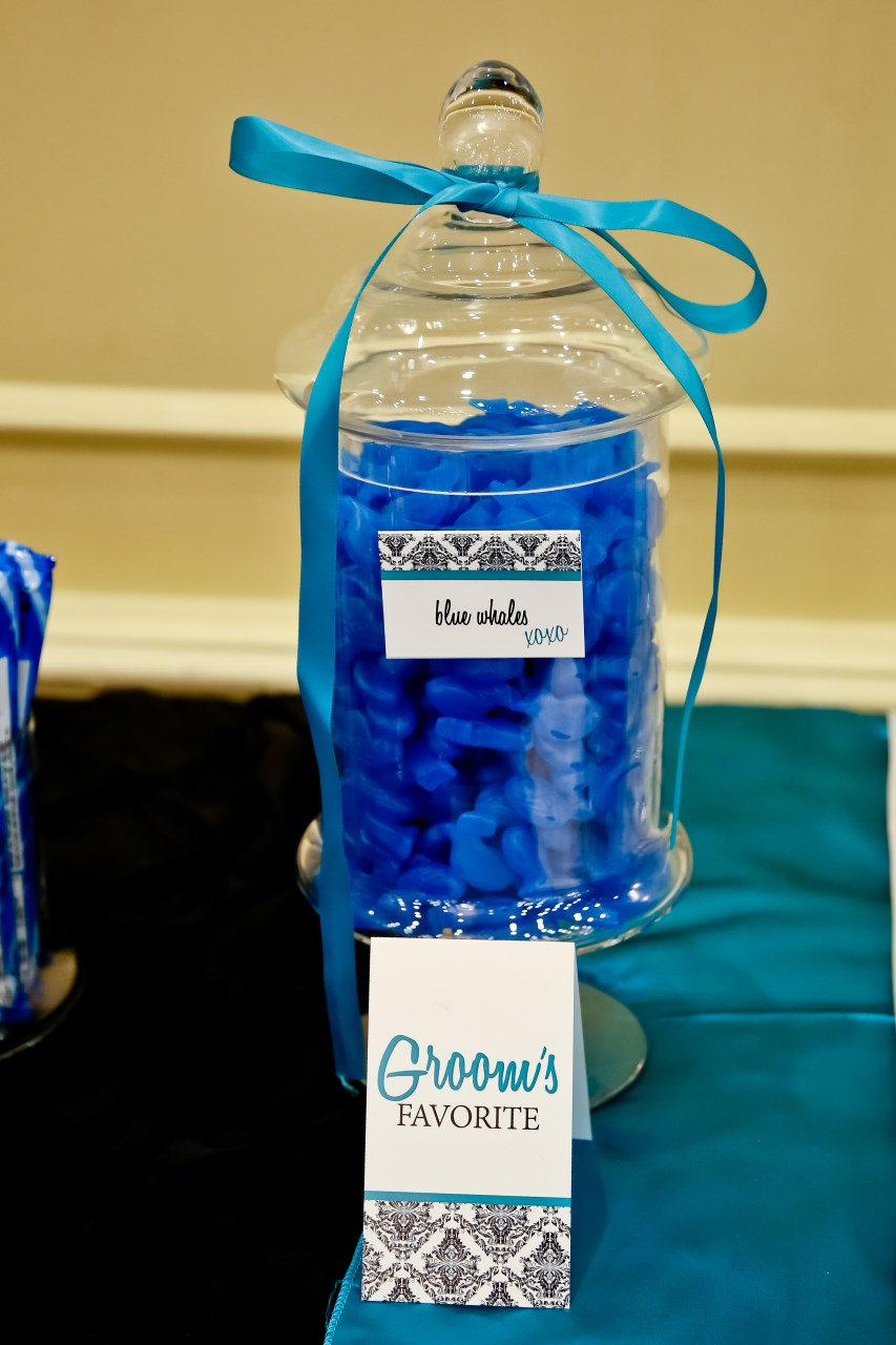 Groom's Favorite from the Wedding Candy Bar / Photo by Carrie Ekosky Photography — Wedding Designed by Madeline's Weddings & Events