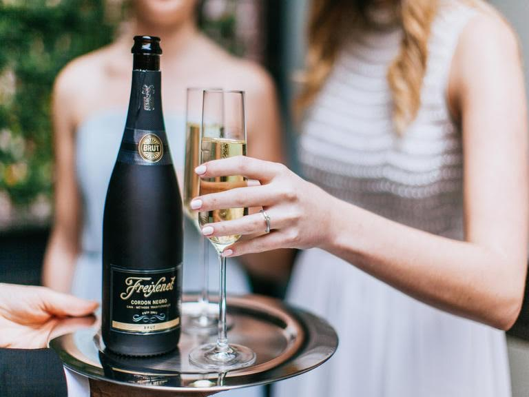 Find out the Secret to Stylish Wedding Celebrations with a little DIY and some bubbly