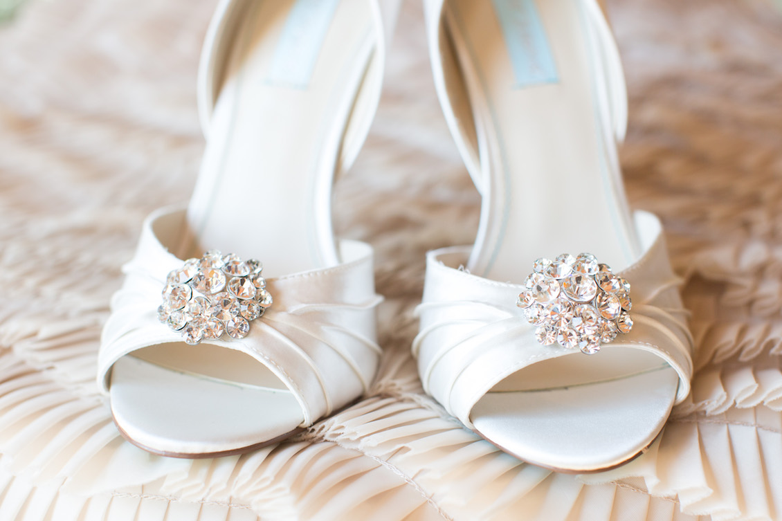 Betsey Johnson Wedding Shoes / Photography by Amy Nicole