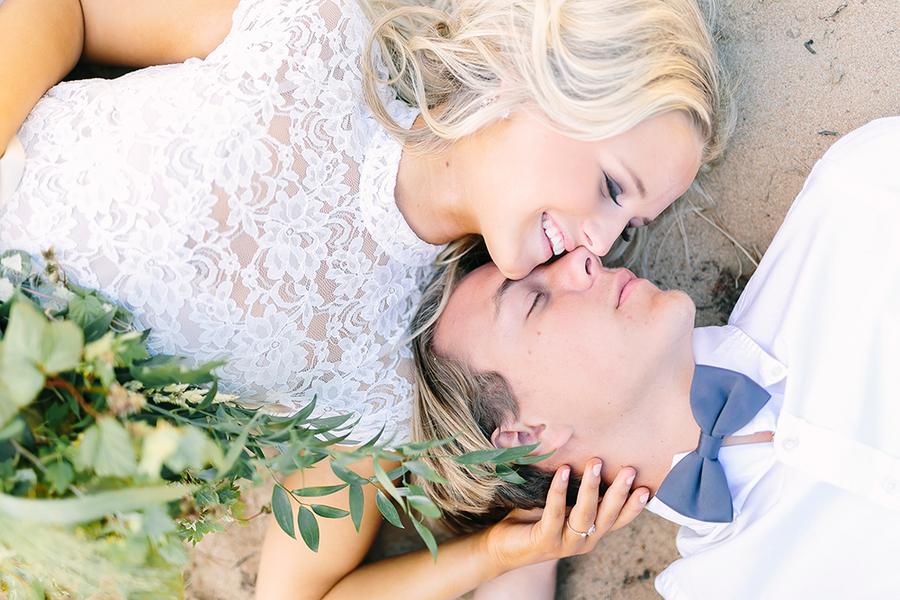 Boho Destination Wedding Inspiration - Bride and Groom Laying Together. Gorgeous Wedding Photo Portraying Love / photo by Destination Wedding Photographer Linda-Pauline Pehrsdotter