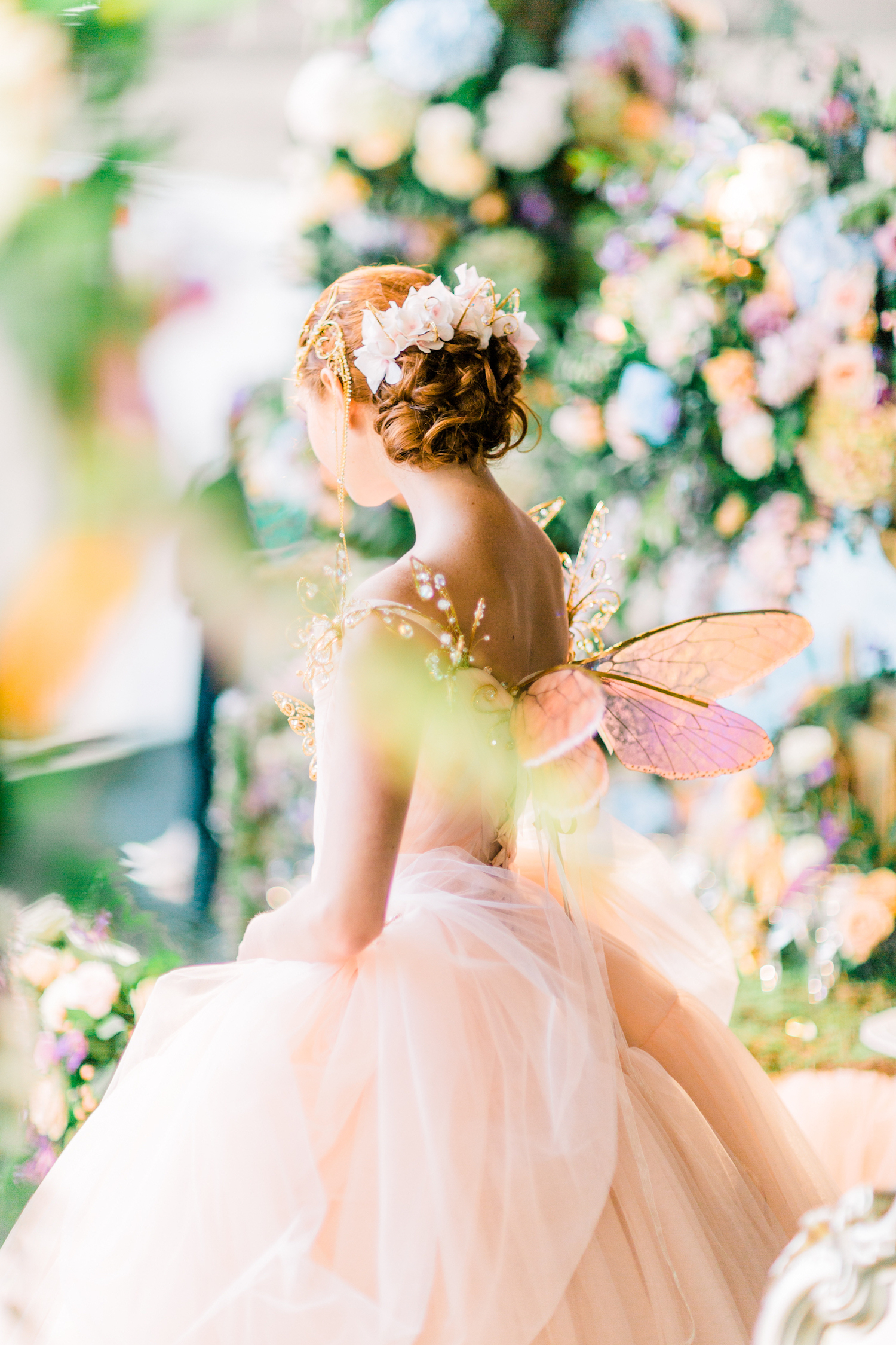 Fairy Enchanted Garden Themed Wedding Inspiration | Amie Bone Flowers | London Weddings | Watercolor Floral Themed Weddings