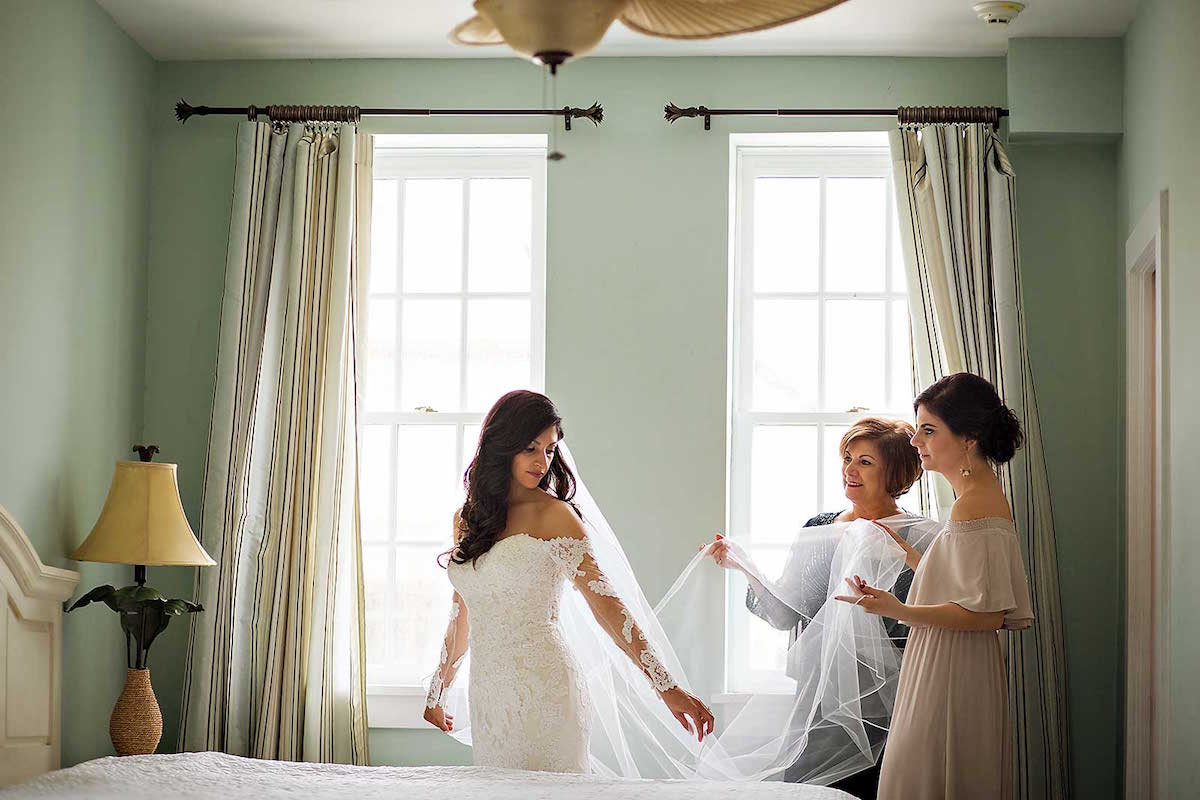 Gorgeous Getting Ready for the Wedding Day Photograph / photo by Rae Leytham Photography / St. Augustine Florida