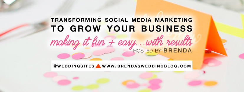Join the Brenda's Wedding Business Club Private Facebook Group for Smart Social Media Marketing for Wedding Pros