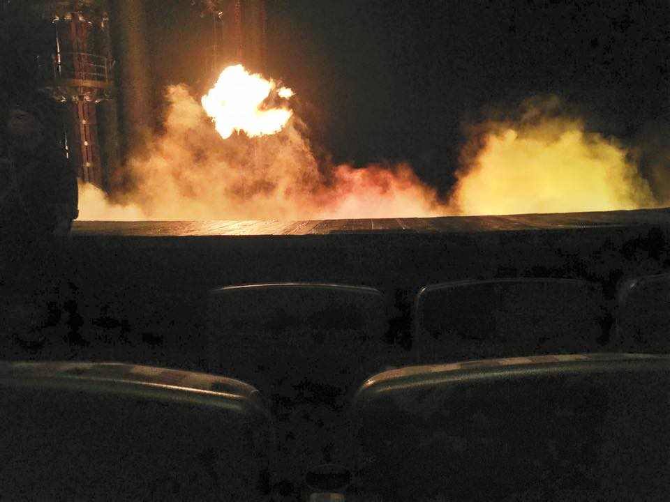 3rd row seats at MGM Cirque, Ka
