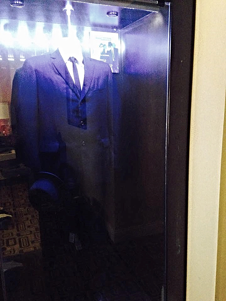 The Mikea Howard team were set up in the Blues Brothers suite.