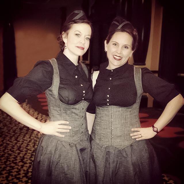 Kelly Smith & Mindy Howard at The Novel Experience Event, Las Vegas, 2015