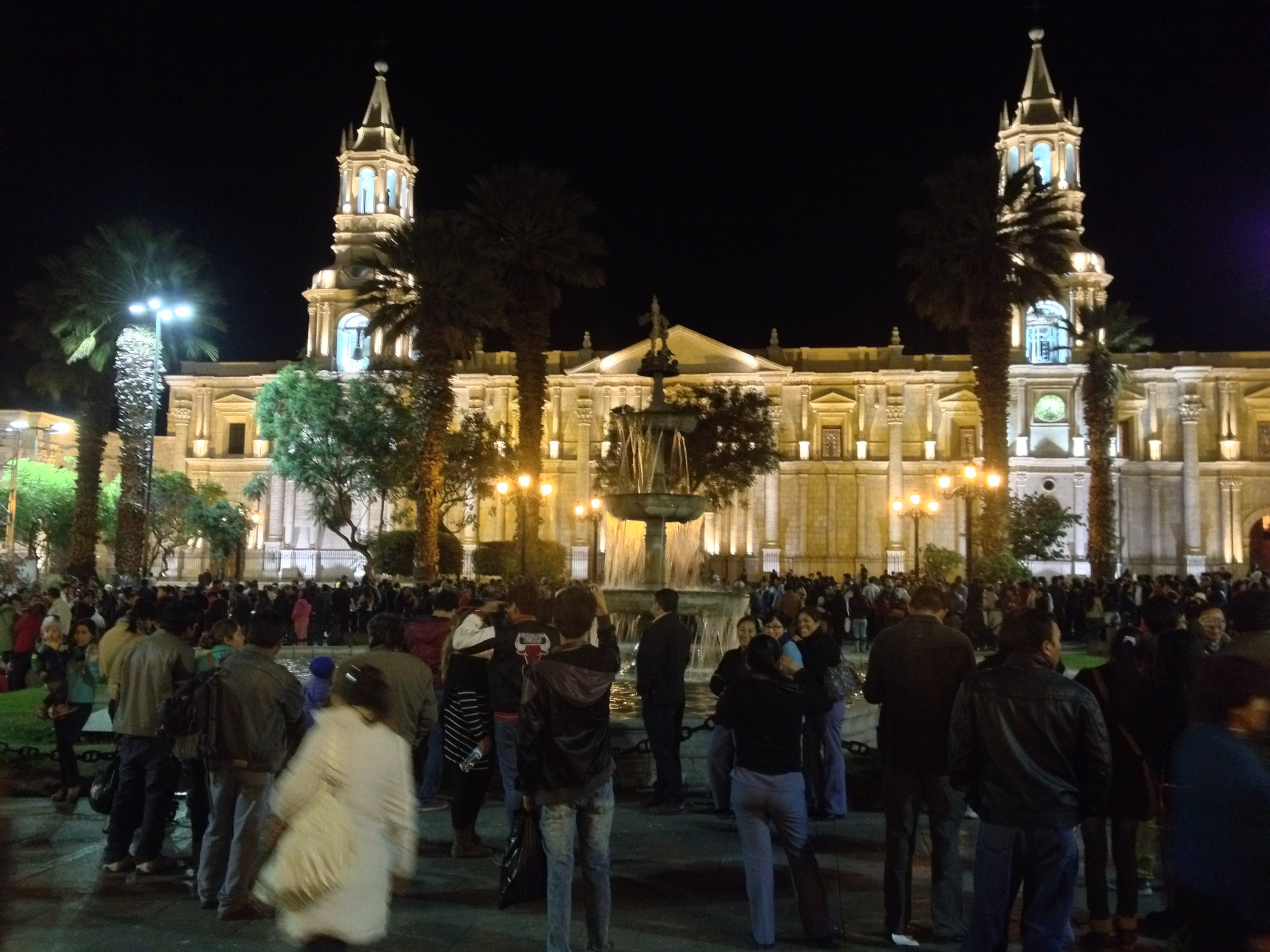 Arequipa Town Square and Church