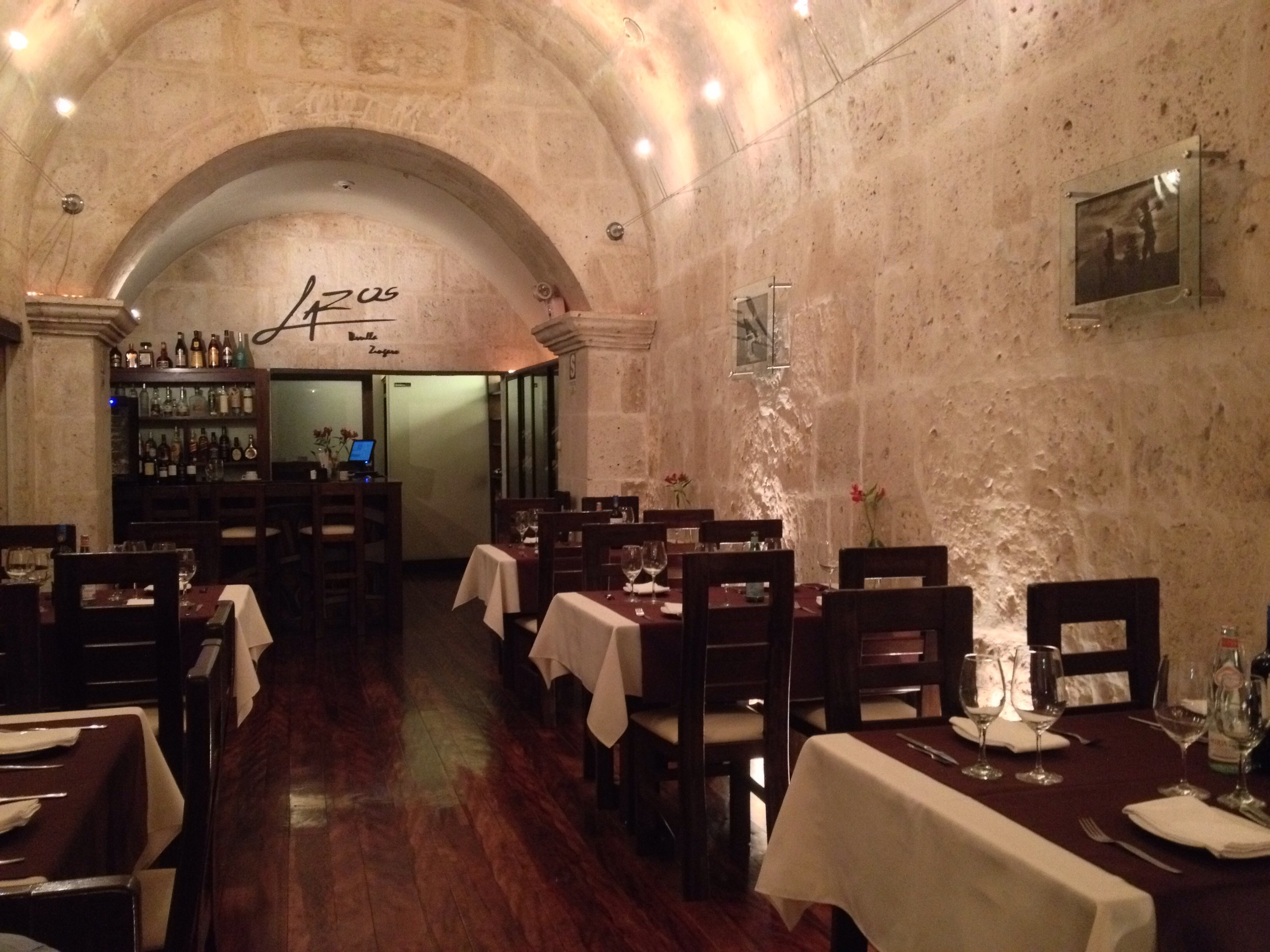 Arequipa Lazos Restuarent- a good place to eat