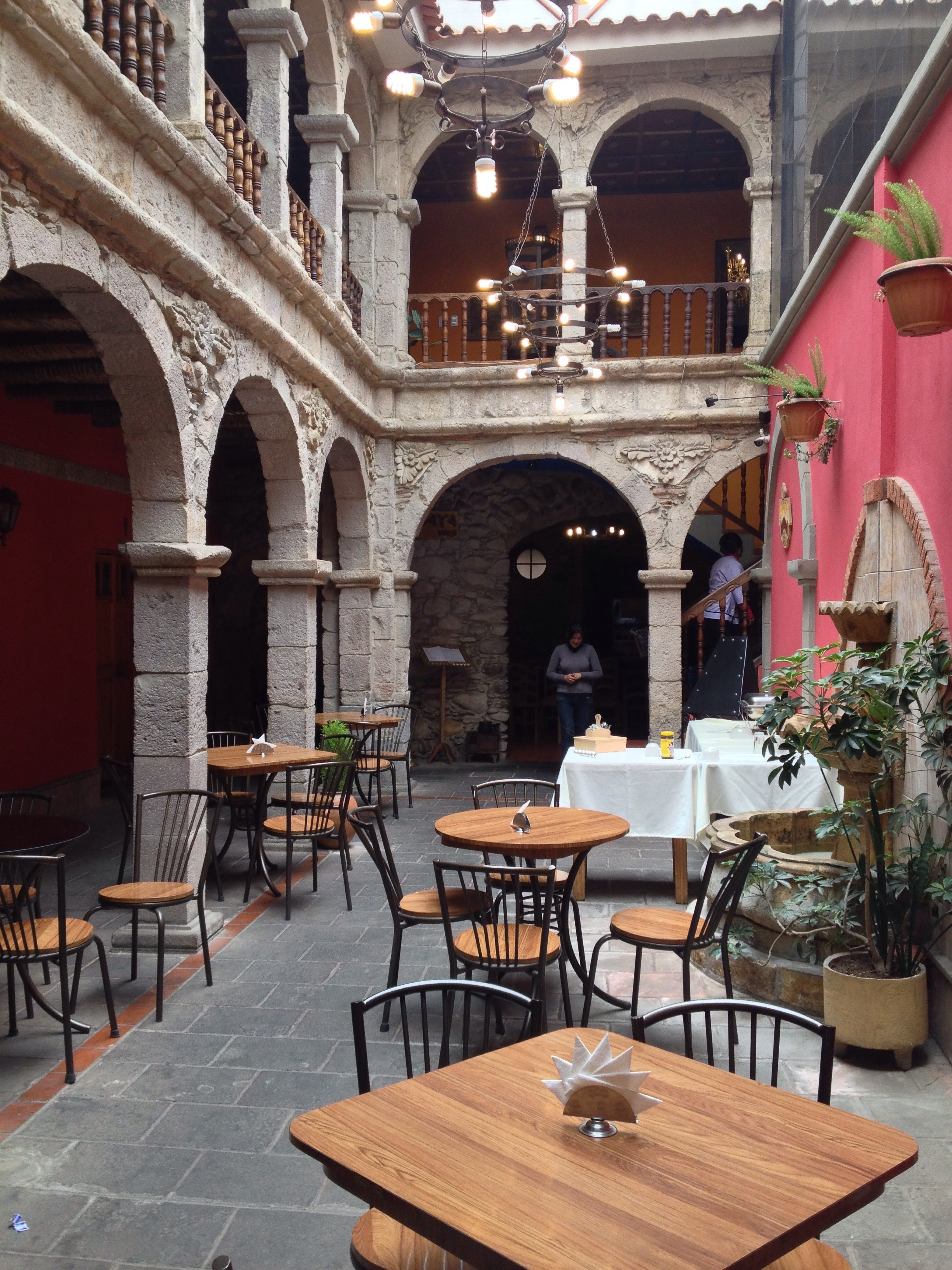 Hotel Piedra - a great location and feel.
