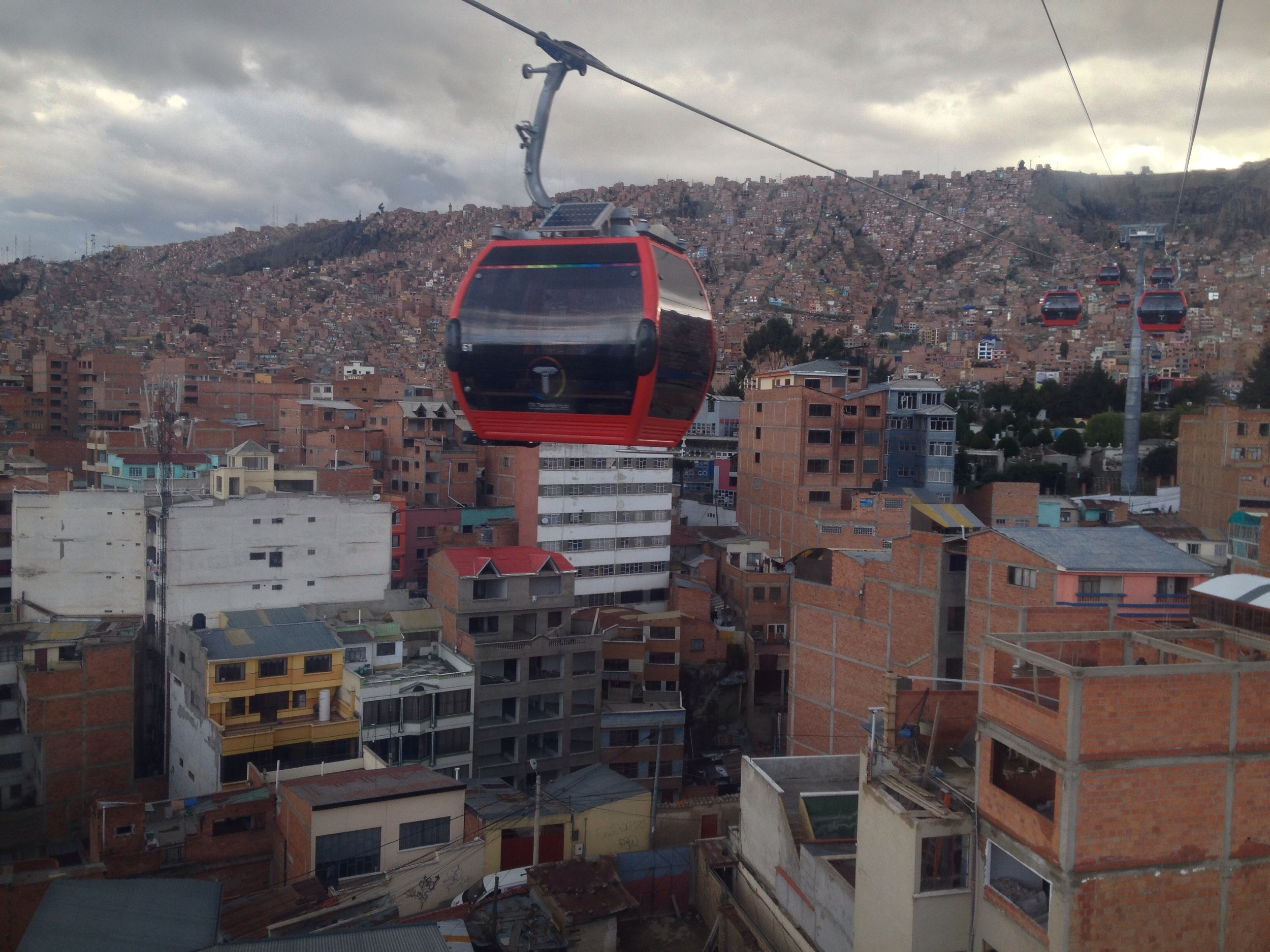 The new cable car beats the bus
