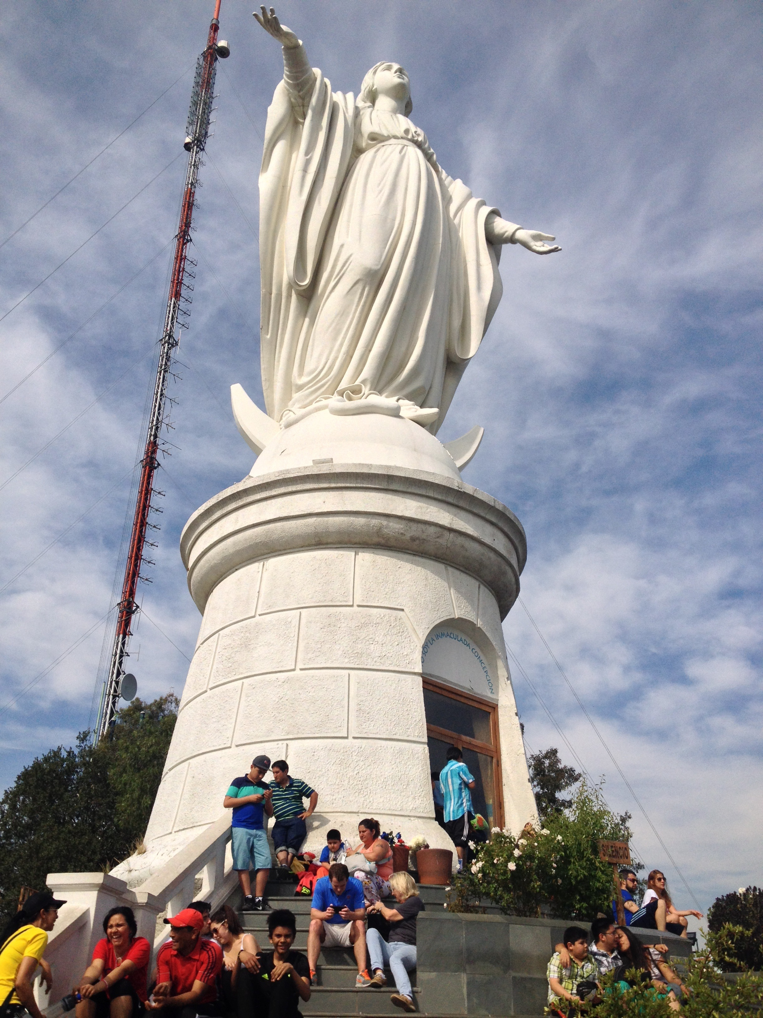 Mary Statue with a great view