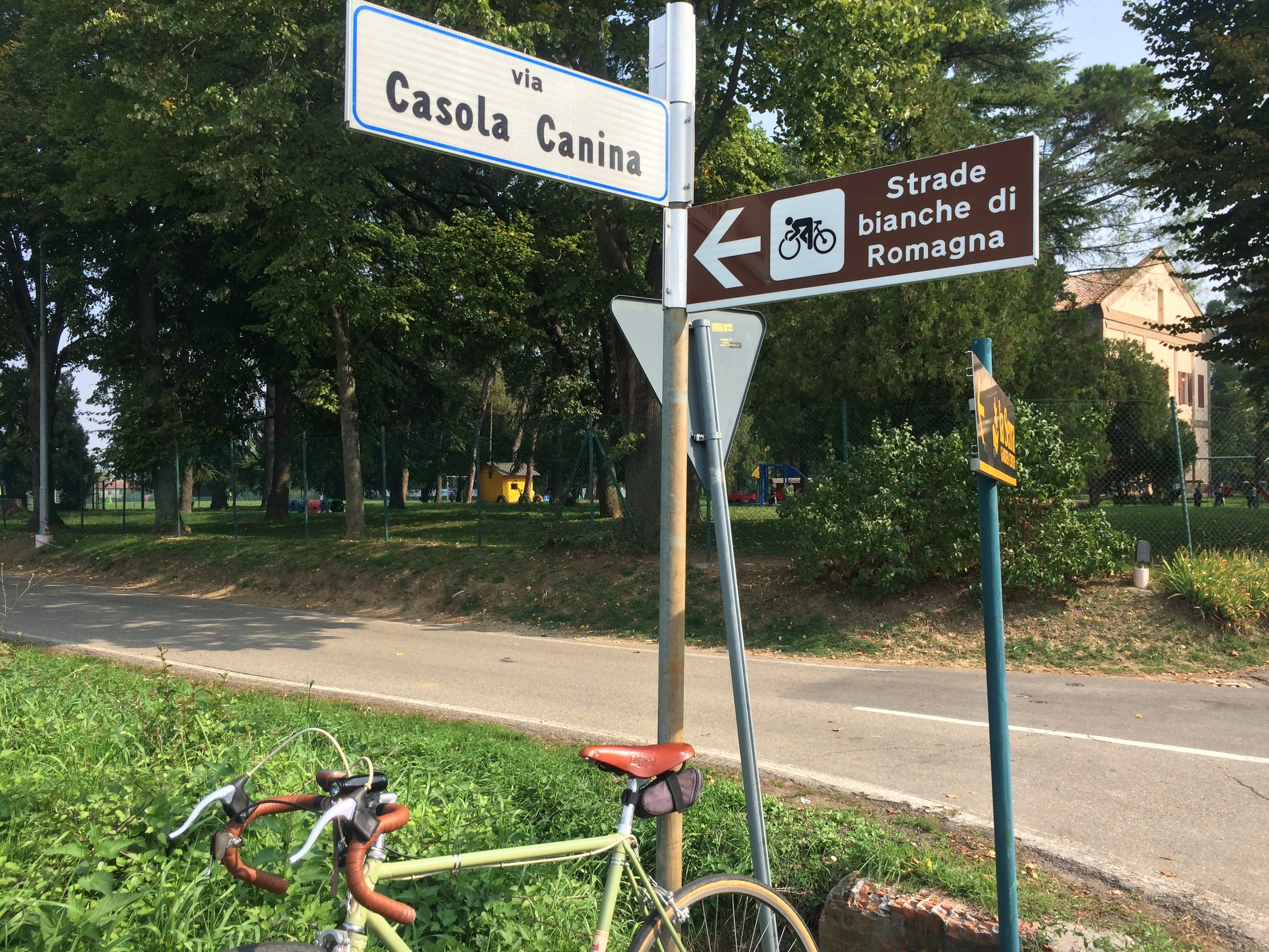This is a popular cycling region