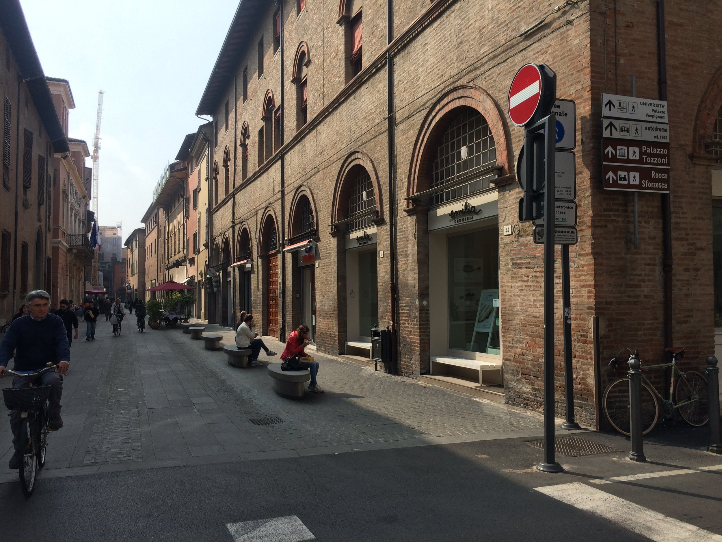 Old town of Imola