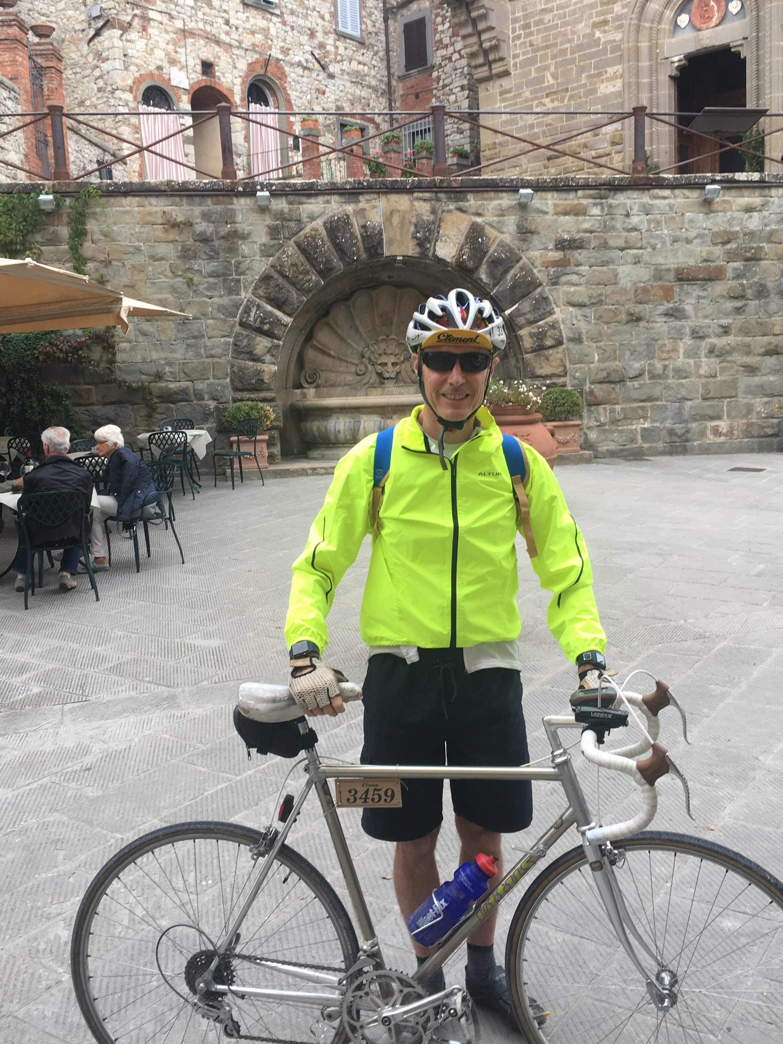 My previous visit to Radda was four nights earlier at 20:30 near the end of L' Eroica