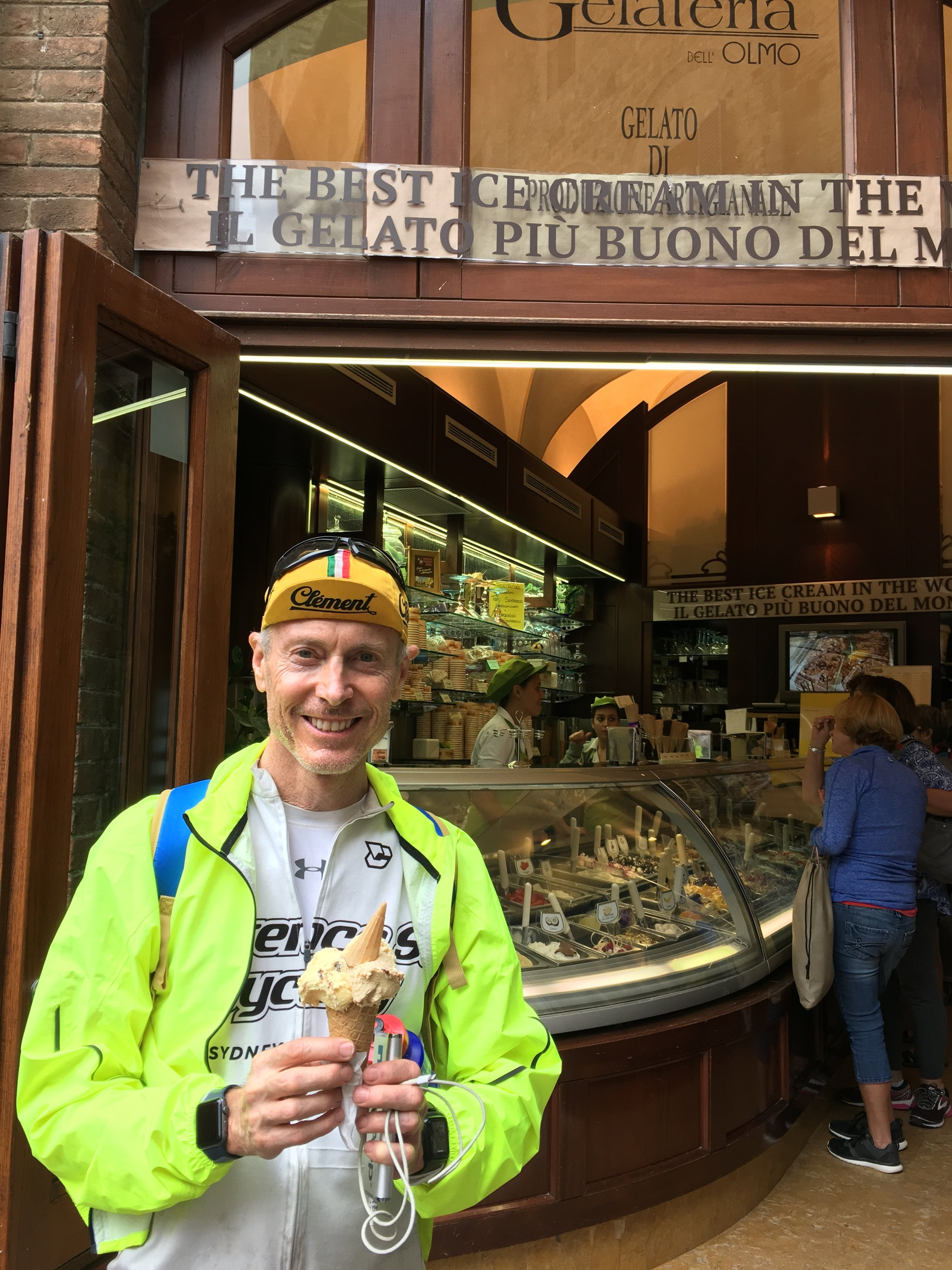 """Eating Gelato from """"The Best Icecream in the World"""""""